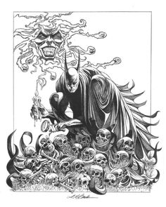 A gorgeous recreation of Kelly Jones' Batman #516 cover by David Michael Beck.  Wow.