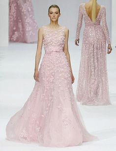 Elie Saab 2012 - Pale Pink Gown