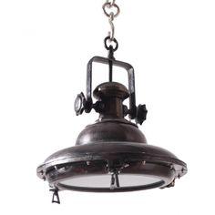 Industriele hanglamp Iluce Black Pearl