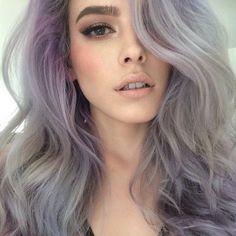 grey silver pastel hair - Google zoeken