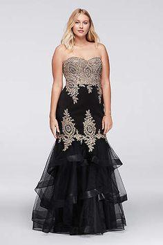 500d675fbc Plus Size Prom Dresses  amp  Gowns for 2016  amp  2017