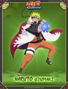 Naruto Uzumaki -Hokage- by alxnarutoall.deviantart.com on @deviantART