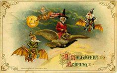 Halloween morning
