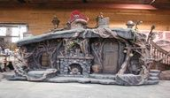 Love the elements of this underground hideout.