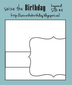 Seize the Birthday: Seize the Birthday #8-Masculine Birthday Card