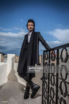Actor Joe Odagiri is photographed for Self Assignment on May 2011 in Cannes, France. Eye Candy, Goth, Self, Cannes France, Singer, Stock Photos, Actors, Men's Style, Womens Fashion