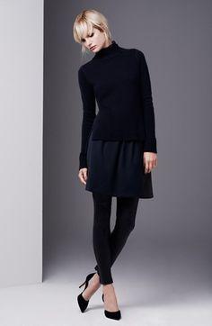 Vince Sweater, Skirt & Leather Leggings | Nordstrom