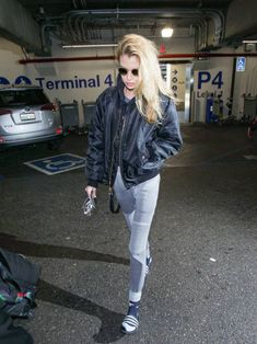 Stella Maxwell is seen at Los Angeles International Airport on December 27 2017 in Los Angeles California