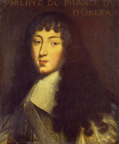 Portrait Of Philippe De France, Duc D'Orleans (1640-1701), Circa 1665 (at 25 years)