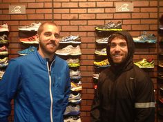 Don't let the rain stop you from running! Justin and Joe show off the Brooks Infiniti Jacket and the Nike Vapor Jacket- perfect for wet fall/winter weather!