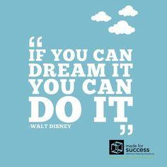 Quote of the day!!  #motivationalquotes, #successquotes, #inspirationalquotes, #mydubai, #creativequotes, #creative, #creativity, #creativeworld, #advertisingagency, #advertising, #creativeideas #madeforsuccess #dubai #quote, #waltdisney #quoteoftheday #waltdisneyquotes