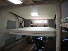 camper over cabin bed - Google Search