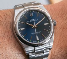 "https://flic.kr/p/MZUB4J | Rolex Oyster Perpetual Watch 2015 | This photo is licensed under a Creative Commons license. If you use this photo within the terms of the license or make special arrangements to use the photo, please list the photo credit as ""WatchReviewBlog.com"" and link the credit to https://www.watchreviewblog.com"