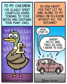 19 Comics That Sum Up Car Rides With Kids | The Huffington Post