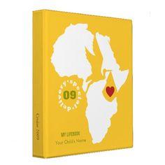 Adoption Life Book Binder - Customizable for you!