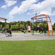 Máquinas de ejercicios Kompan Sport & Fitness / UrbanPlay