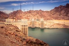 Hoover Dam in Nevada & Arizona