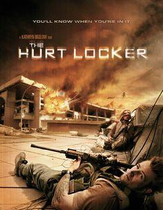 The Hurt Locker (2008) • Director: Kathryn Bigelow • Writer:  Mark Boal • Stars: Jeremy Renner, Anthony Mackie, Brian Geraghty