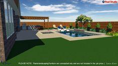 Pool Installing Acoustic Ceiling Tiles Article Body: Installing acoustic ceiling tiles is an option Pool Gazebo, Backyard Pool Landscaping, Small Backyard Patio, Backyard Patio Designs, Swimming Pools Backyard, Swimming Pool Designs, Garden Pool, Lap Pools, Indoor Pools