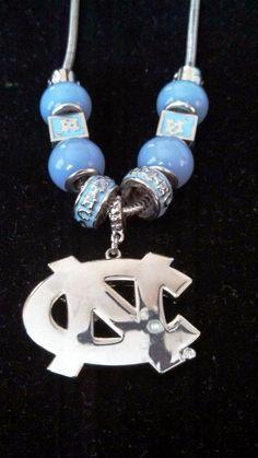 University of North Carolina Tarheels Necklace
