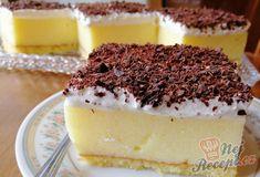 Falešný krémeš | NejRecept.cz Sweet Recipes, Tiramisu, Cheesecake, Food And Drink, Cooking Recipes, Pudding, Sweets, Cookies, Ethnic Recipes