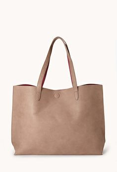 This would be great for school!! I'm in love! <3 Everyday Faux Leather Tote $24.80 #ForeverHoliday #forever21 @Forever 21