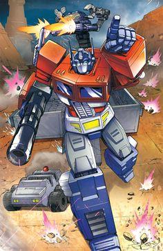Optimus Prime by Dan-the-artguy on DeviantArt Colors by Evan Gaunt