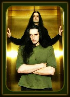 Peter Steele and Johnny Kelly