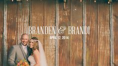 Branden & Brandi Wedding