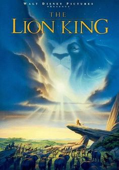 The Lion King is my favorite movie of ALL time! I mean, come on, it's Shakespeare in a setting and language that is so easy to understand. The dialogue if funny, witty, and so much fun to say over and over. Honestly I can quote this movie for over an hour. Ask my friends.