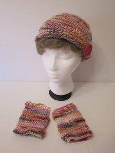 Chapeau  Bloom tricoté à la main par LesFousDArt sur Etsy, $60.00