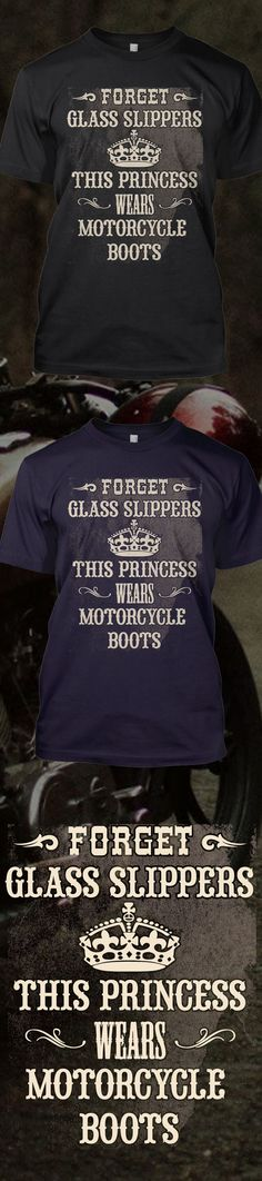 Are you wearing motorcycle boots?! Check out this awesome This Princess Wears Motorcycle Boots t-shirt you will not find anywhere else. Not sold in stores! Grab yours or gift it to a friend, you will both love it