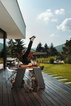 Familie Bohnenbaum, Privat wie nie — Kramer and kramer Greenery, Deck, Architecture, Outdoor Decor, Design, Home Decor, Tree Structure, Garden