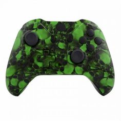 Mod Freakz ShellButton Kit Hydro Dipped Collection  Hades Green Skull NOT A CONTROLLER For Xbox One Gen 1 Controllers ONLY  No Headphone Jack *** Visit the image link more details. (It is Amazon affiliate link) #c4c