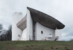 See the 17 Le Corbusier Projects Named as UNESCO World Heritage Sites,Notre-Dame du Haut, Ronchamp, France. Religious Architecture, Chinese Architecture, Futuristic Architecture, Amazing Architecture, Architecture Office, Architecture Portfolio, Architecture Design, Zaha Hadid Architects, Famous Architects