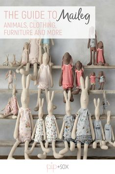 Discover the wonderful world of Maileg with our complete guide to everything there is to know about this gorgeous brand. Everything from the different animal characters, their sizes (and how they compare side-by-side) and how to pick the right furniture for your dollhouse is covered. Be sure to save the post now to make your Christmas shopping easier.