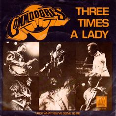 - Commodores - Three Times A Lady / Look What You've Done To Me - Motown - Netherlands - Good Music, My Music, Anniversary Plans, 1970s Music, Number One Hits, Lionel Richie, Lp Cover, Teenage Years, Music Icon