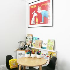 A step by step guide to putting together this cute kids craft and reading nook