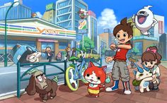 Youkai Watch 2 Gameplay Footage