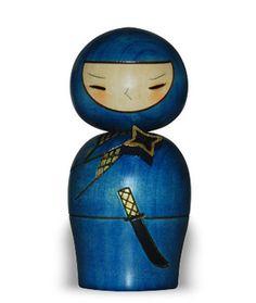 Shingata kokeshi ninja