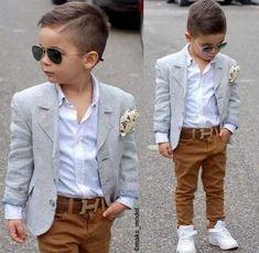 Toddler Boy Fashion, Little Boy Fashion, Toddler Boy Outfits, Fashion Kids, Toddler Boys, Young Boys Fashion, Toddler Boy Haircuts, Baby Boys, Outfits Niños