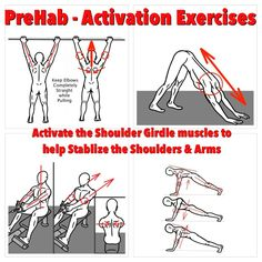 Want to be more powerful with your upper body? Activate the Shoulder Girdle muscles will help to stabilize the shoulders and deliver more power through the arms! For more detailed instructions, follow this link: https://www.facebook.com/prehabexercises/posts/571349742964459 #prehab #activationexercises #shouldergirdle #shoulderstability #modernathlete #preparetoperform