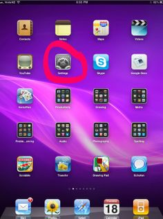 Setting up restrictions on your ipad