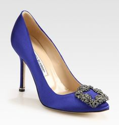 Manolo Blahnik - Carrie Bradshow wedding shoes