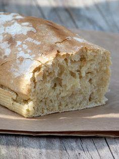 Le pain pour paresseux {pain sans pétrissage en 5 minutes par jour}