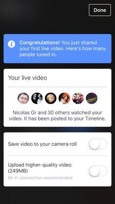 Facebook Live is Live!!!  #SocialMedia #CMGR #smo #CM