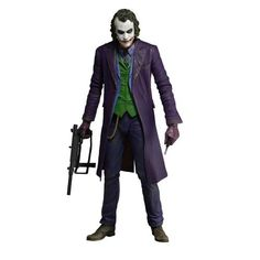 Fandom Friday: 5 Joker Action Figures to Add to Your Collection -- NECA The Dark Knight – The Joker (Heath Ledger) Action Figure