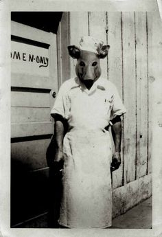 "bundyspooks: ""Some bizarre (and exceptionally creepy) vintage Halloween costumes. Retro Halloween, Costume Halloween, Halloween Photos, Creepy Costumes, Halloween Post, Nurse Costume, Halloween Night, Funny Halloween, Halloween Ideas"