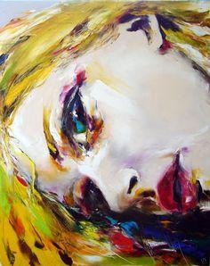 rayon de soleil - Peinture,  80x100 cm ©2010 par Christian Vey -