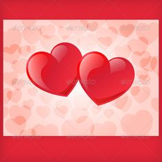 Two Red Hearts (Valentines)